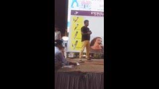 Ek Haseena thi on Karaoke System by Mayur Gandhi at Baroda Central Square