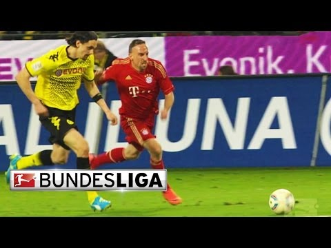 Borussia Dortmund vs. Bayern Munich - Full Game 2012 (Second Half)