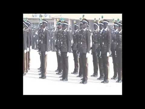 Silent Drill of Nigeria Immigration Service