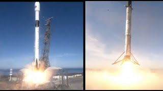 SpaceX Launches Sentinel-6A from Vandenberg AFB for ESA/NASA, Lands Falcon 9