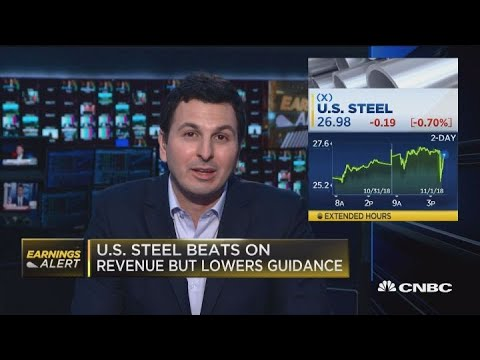 US Steel beats on revenue but lowers guidance