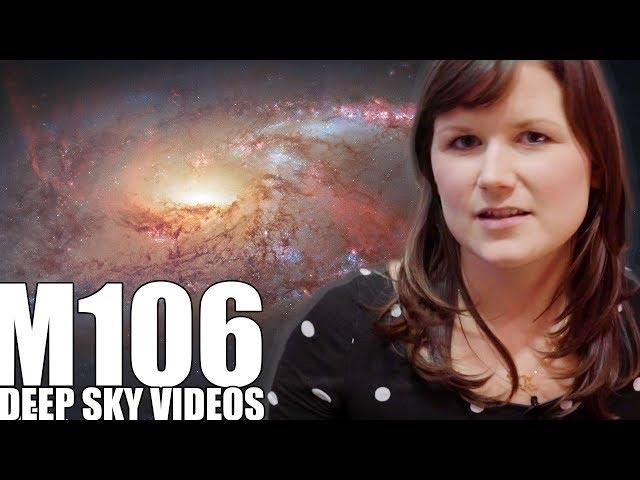 M106 - MEGA MASER QUASAR - Deep Sky Videos