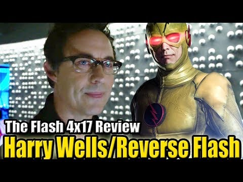 The Flash 4x17 Review - CISCO SE VA Y HARRY WELLS/REVERSE FLASH TEORIA