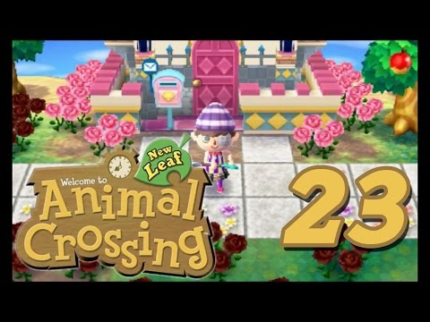 Animal Crossing New Leaf - Episode 23 (Putting Down Paths)