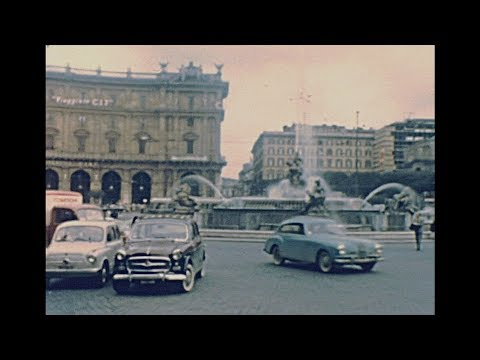 Rome 1958 Archive Footage