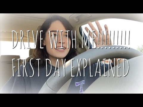 DRIVE WITH ME!! *STORYTIME* : FIRST DAY OF COLLEGE