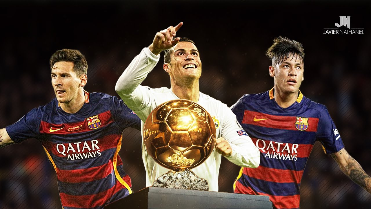 Image result for Cristiano Ronaldo, Neymar and Lionel Messi