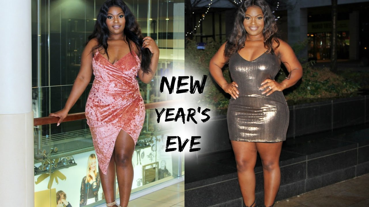 CURVY NEW YEAR\'S EVE OUTFIT IDEAS | PLUS SIZE EDITION | BRENDA MANG
