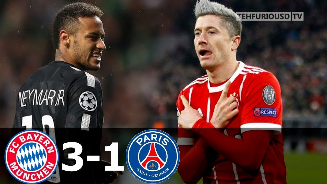 Download Bayern Munich vs PSG 3-1 All Goals and Short Highlights with English Commentary (UCL) 2017-18 HD