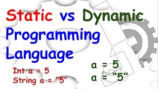 Static vs Dynamic binding in Programming language