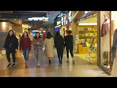Guangzhou City Tour Guide Underground Fashion and Snacks Commercial Plaza Travel Guide Guangzhou