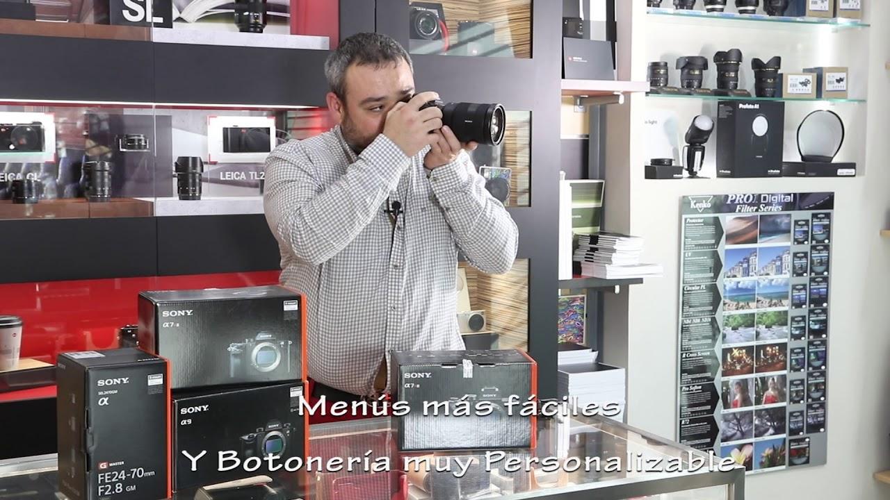 Sony a7riii mejor c mara sin espejo youtube - Mejor camara sin espejo 2016 ...