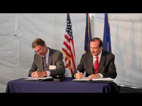 Signing of Teaming Agreement for Boeing's NewGen T...