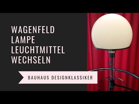 Wagenfeld Lampe -