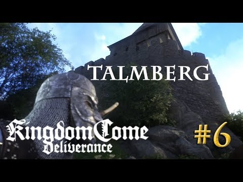 Let's Play Kingdom Come Deliverance #6: Talmberg  (Tag 1 / Blind / deutsch)