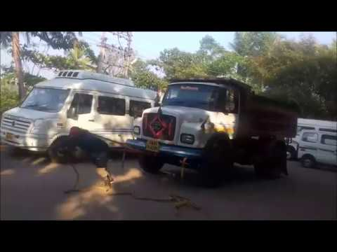 pulling buses truck heaviest training in goa india