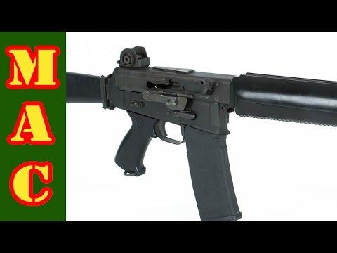 Firing the Armalite AR-180 Rifle - YouTube