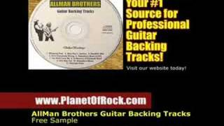 Allman Brothers In Memory of Elizabeth Reed Guitar Backing