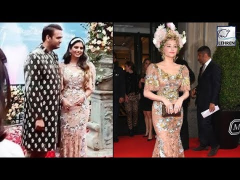 All You Need To Know About Isha Ambani's Engagement Gown | LehrenTV