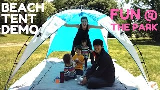 Family Fun at the Park | Demo of Pacific Breeze Beach Tent