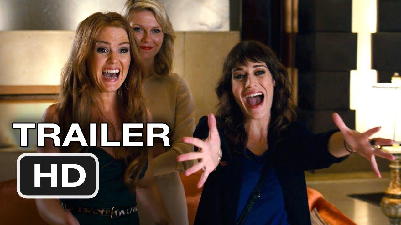 Bachelorette Trailer 2012 Kristen Dunst Lizzy Caplin Isla Fisher Movie Hd Youtube