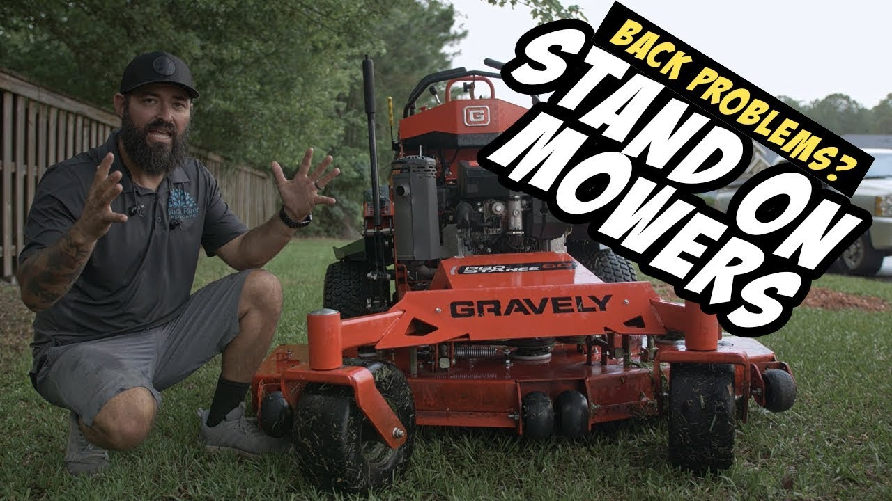 Why I Prefer Stand On Mowers But Let's Do Some Mowin First !