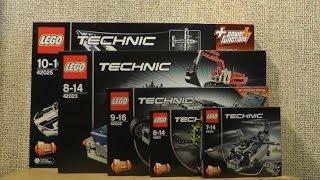 NOWOŚCI MARZEC 2014 LEGO TECHNIC
