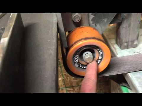 "Homemade 2"" X 72"" belt grinder"