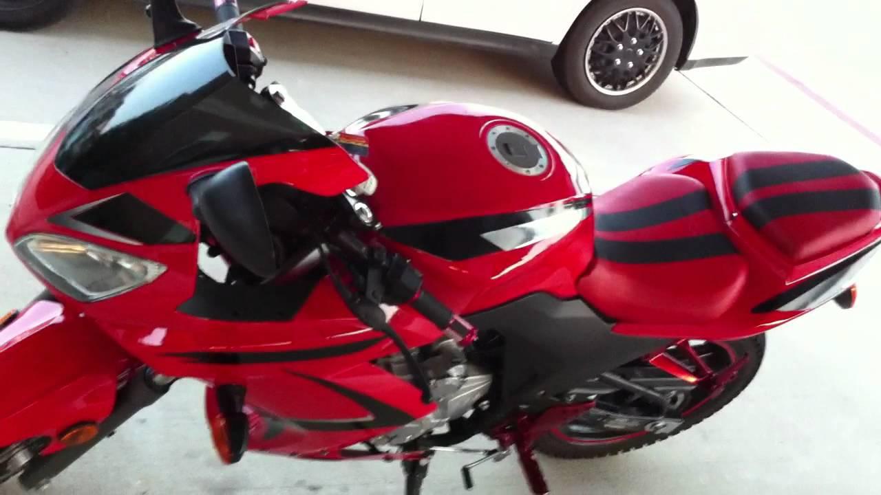 SXR 250 rtc sport bike customized