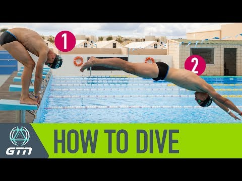 How To Dive For Swimming | A Step By Step Guide