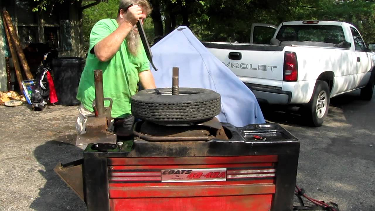 Coats 40 40a Tire Changer Youtube