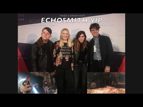 I MET ECHOSMITH!!! - VIP Inside a Dream Tour Chicago Experience (4/14/18)