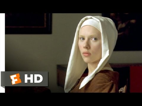Girl with a Pearl Earring (8/12) Movie CLIP - I Need to See Your Face (2003) HD