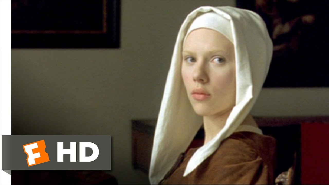 Girl with a Pearl Earring (8/12) Movie CLIP