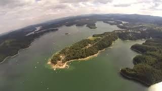 Skoki do wody - Solina 15 sierpień 2013