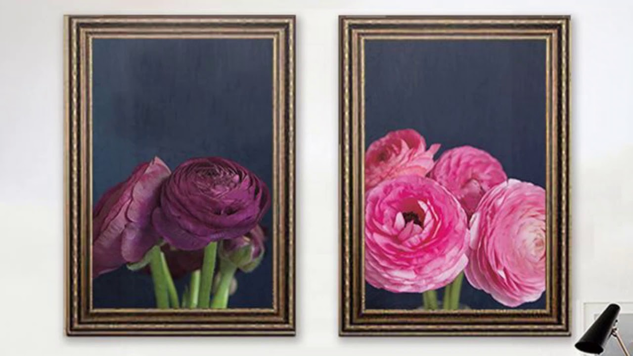 3000+ mẫu tranh hoa lá, tranh hoa hướng dương, hoa hồng, hoa sen đẹp treo tường 2020