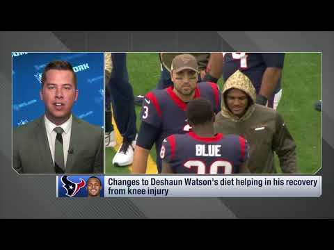 James Palmer reveals the lifestyle change Texans QB Deshaun Watson made to accelerate his recovery