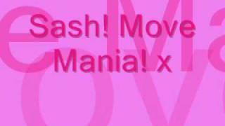 Sash - Move Mania