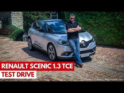 Renault Scenic 1.3 TCe | Test drive in anteprima del nuovo motore turbo benzina