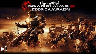 Gears of War 2 (Xbox One) - Coop Campaign - Part 1 - Act 1 - Welcome to the Big Suck
