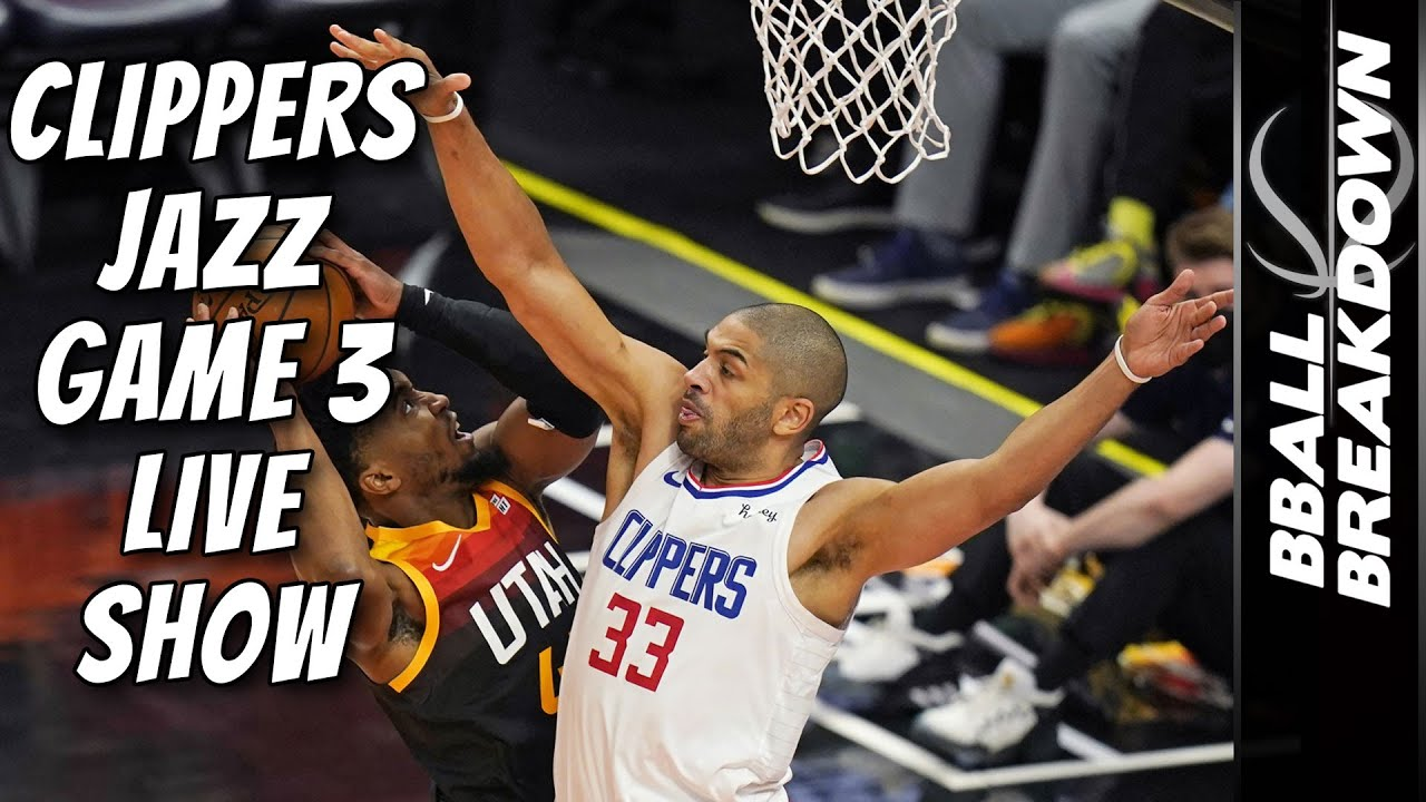 Download Clippers At Jazz Game 3 LIVE Post Game Show