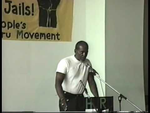 Chairman Omali Speaks on Black Power