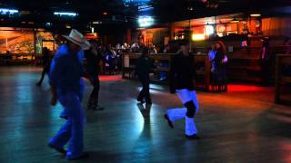 Line Dancers at 8 Second Saloon
