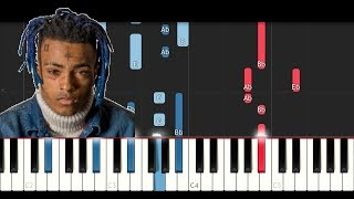Lil Wayne ft XXXTentacion - Dont Cry (Piano Cover Tutorial)
