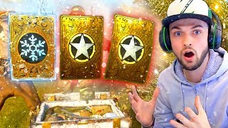 OPENING x100 WINTER SUPPLY DROPS! (COD WW2 *NEW* Guns)