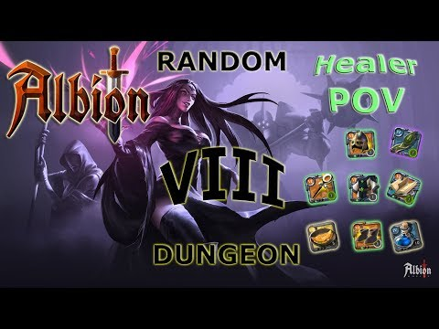 Albion: Tier 8 Random Dungeon | Holy Healer (Lifetouch) POV