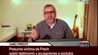 Caso Precht: Presunta víctima de sacerdote subió acusaciones a youtube