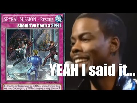 "SPYRAL MISSION - Rescue... should've been a SPELL.... ""YEAH, I said it"""