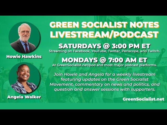 #GreenSocialist Notes #27