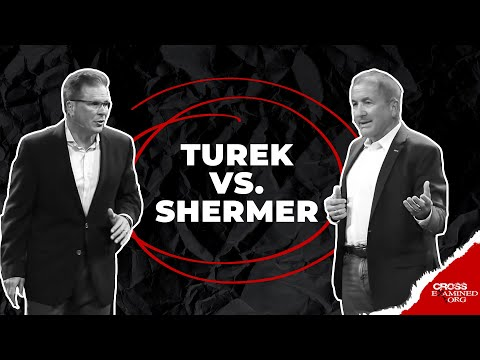Debate: What Best Explains Reality: Theism or Atheism? (Frank Turek vs. Michael Shermer)